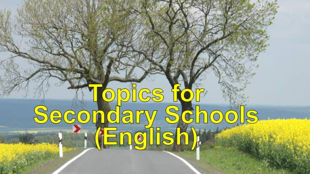 Topics for Secondary Schools-English-bi.